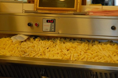 giant tray of chips