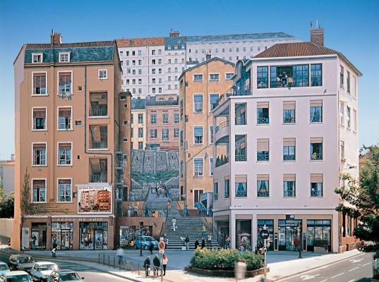 Wall art in Lyon