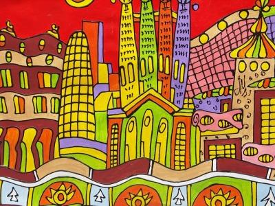 barcelona-drawing