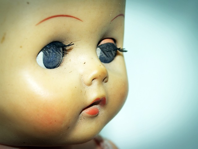 old doll's head